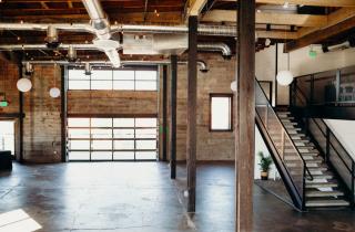warehouse venue, industrial venue, Mangia Catering, Spokane catering, Spokane venue, pacific pine collective