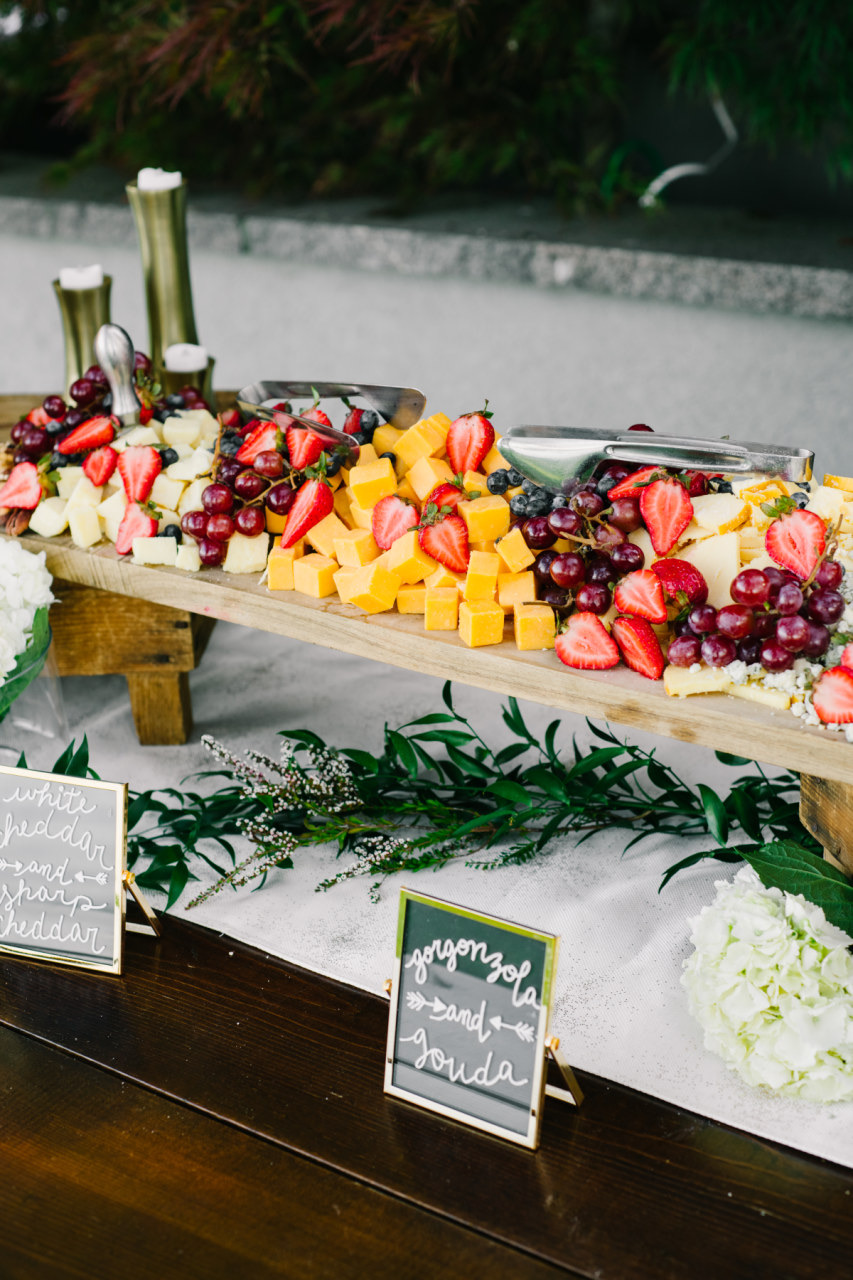 cheese board, catering, Mangia Catering, Spokane catering, Coeur D Alene