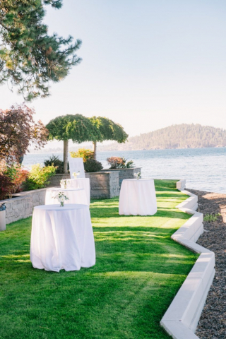 by the lake venue, cda catering, Mangia Catering, Spokane catering, Coeur D Alene, Idaho