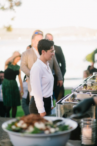 mangia catering, by the lake venue, event rents